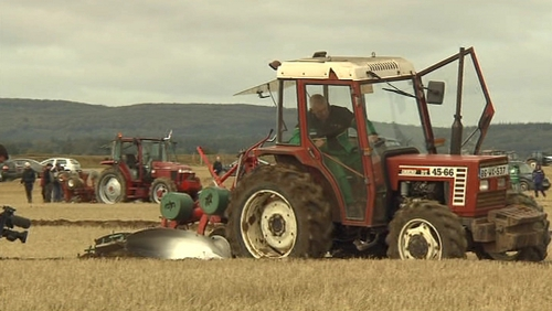 Eamonn Tracey came second in the World Ploughing Championships