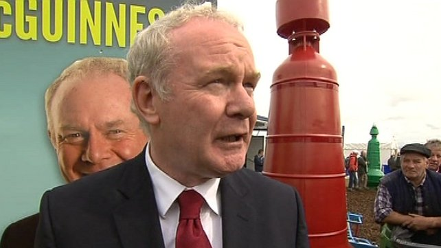 Family of Detective Jerry McCabe have questioned Martin McGuinness' suitability for office of President