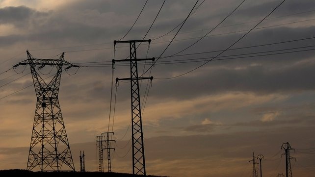 Energy usage in Ireland fell by 12% between 2008 and 2011