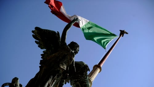 The Italian economy shrank by 0.2% in the second quarter