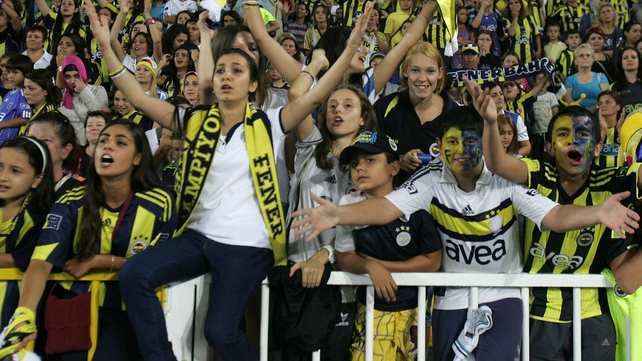 Fenerbahce fans will not see their team in Europe for at least two seasons