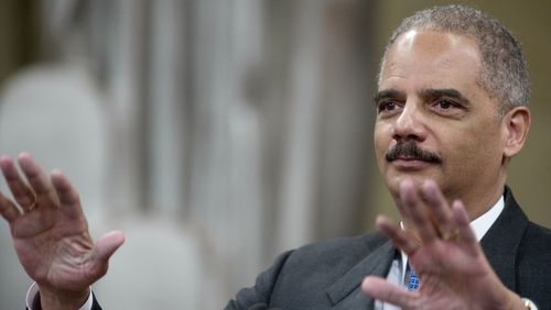 Attorney General Eric Holder made the announcement