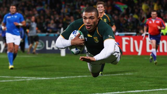 Habana adds to the Springboks' injury list