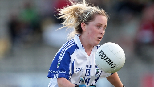 Ciara McAnespie scored two goals for Monaghan
