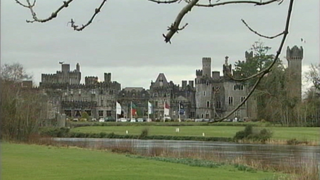 Ashford Castle secured the injunction against protesters
