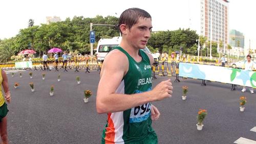 Brendan Boyce: 50km walk