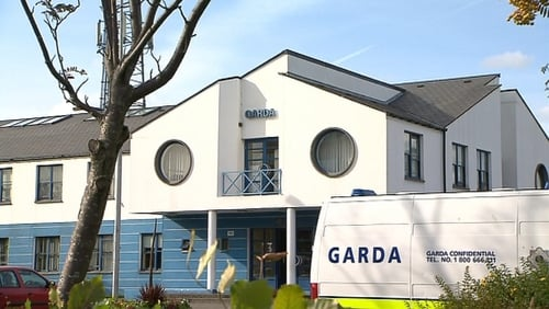 A man in his early 20s is being held at Tallaght Garda Station