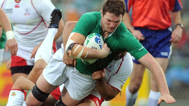 Donnacha Ryan credits his time at St Munchin's College as a formative one in his rugby career