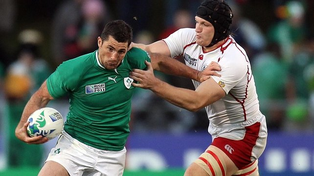 Rob Kearney hopes to be back in rugby  action by mid-January