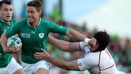 Ronan O'Gara after Russia try