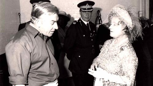 Michael Curtin with Queen Elizabeth II