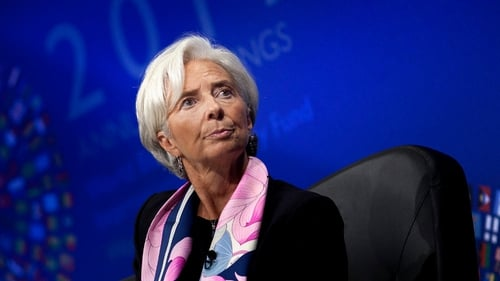 IMF chief Lagarde says that euro zone banking union seems to be the first priority