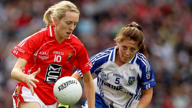 Nollaig Cleary hit two goals for Cork