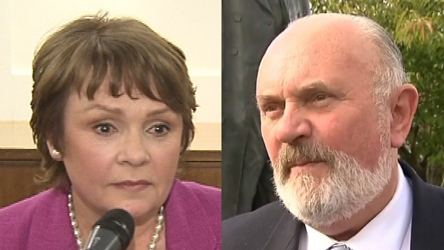 Dana Rosemary Scallon and David Norris seeking the backing of four councils each