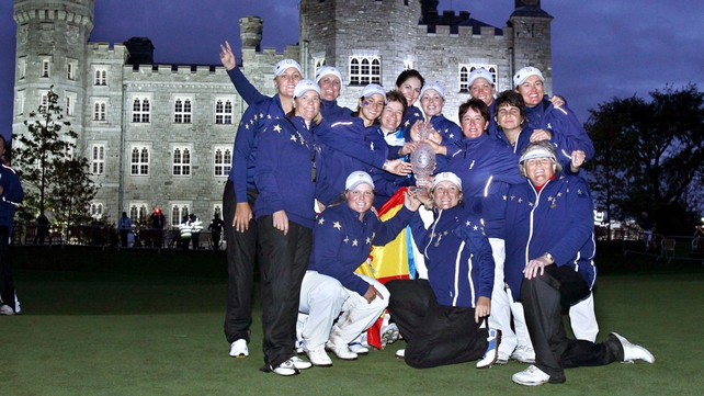 Europe won the 2011 Solheim Cup at Killeen Castle but have never lifted the trophy on American soil