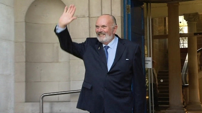 David Norris also handed in his nomination papers this morning