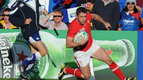 Shane Williams - Returns to the starting line-up following an injury