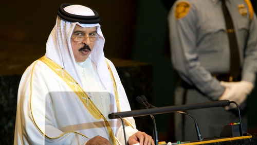 King Hamad addressed the UN General Assembly last week