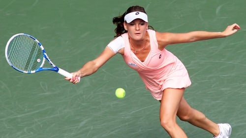 Agnieszka Radwanska - 'I was a little bit nervous at the start, but I woke up after those first two games'