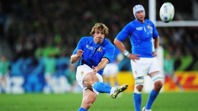 Mirco Bergamasco is a boost for the Italians ahead of what is a tough start to the Six Nations