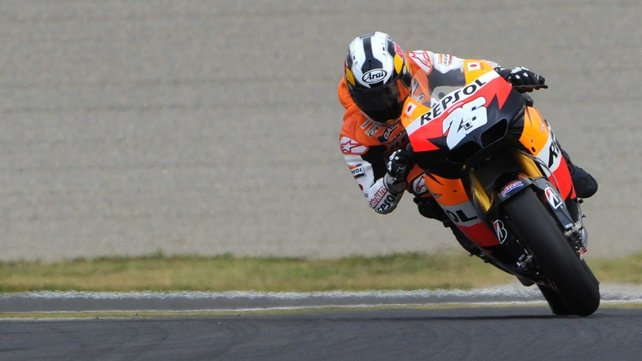 Dani Pedrosa - Claimed pole position in the Malaysian Grand Prix