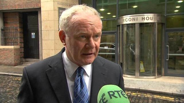 "Martin McGuinness accused Fine Gael of ""black propaganda"""