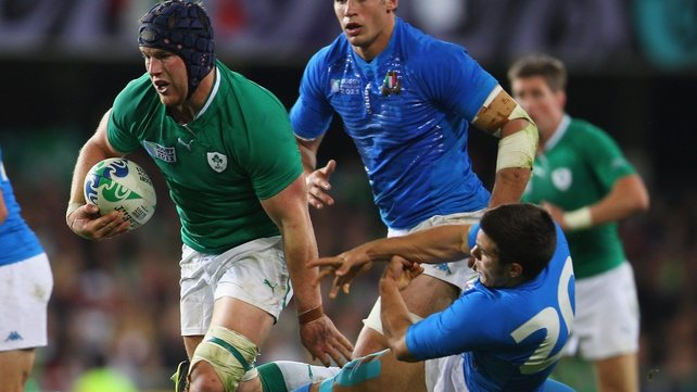 Sean O'Brien showed glimpses of his best form against France