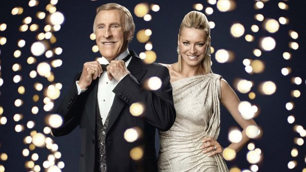 Bruce Forsyth and Tess Daly - Blackpool-bound