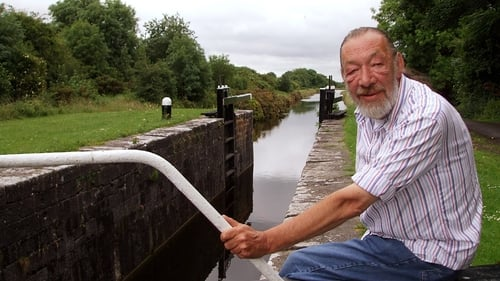 Dick Warner pictured on the Royal Canal during his Waterways series