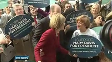 One News: Mary Davis decries negative campaigning