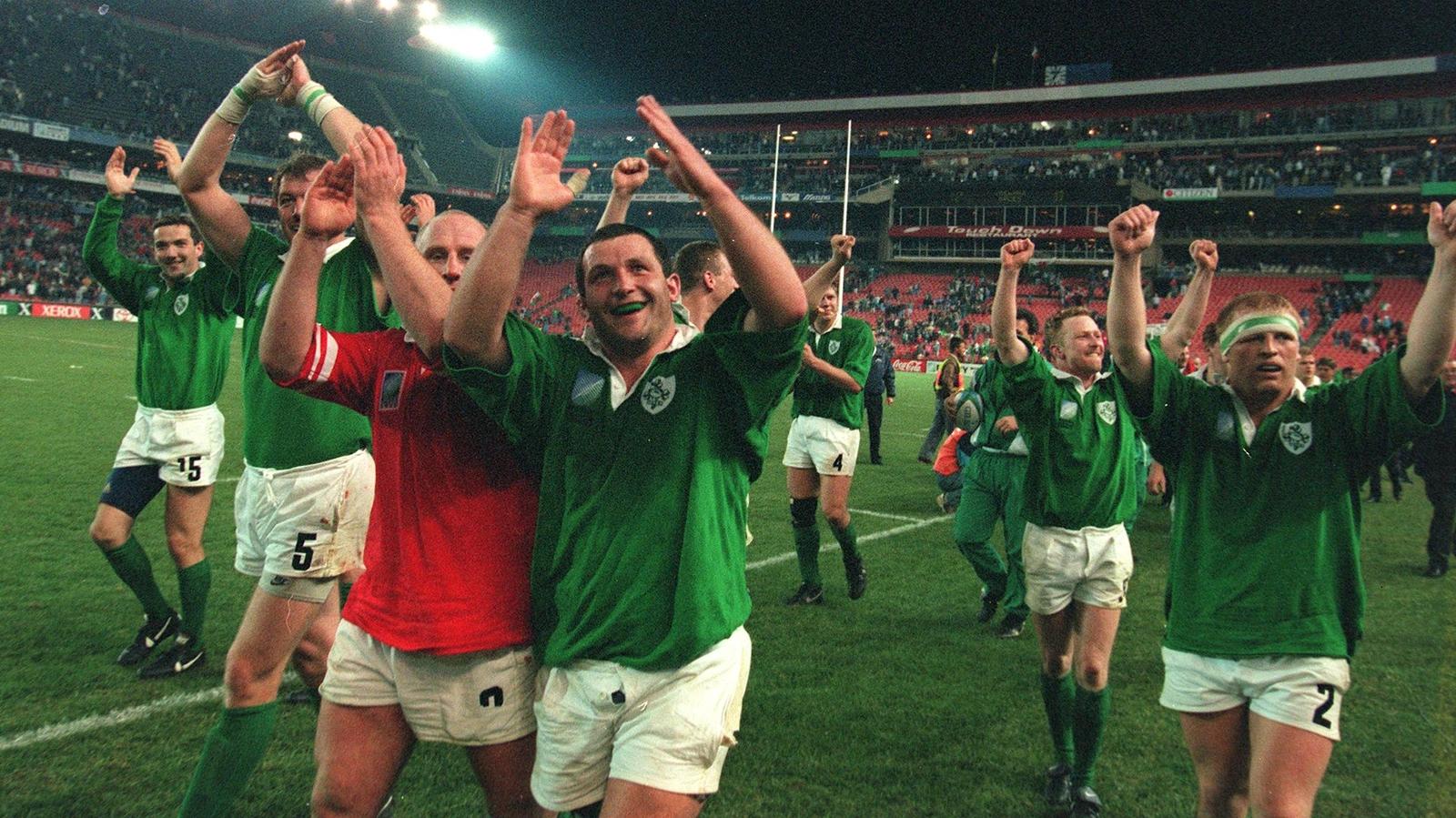 RWC Blog: Ireland sneak Wales win at RWC 1995