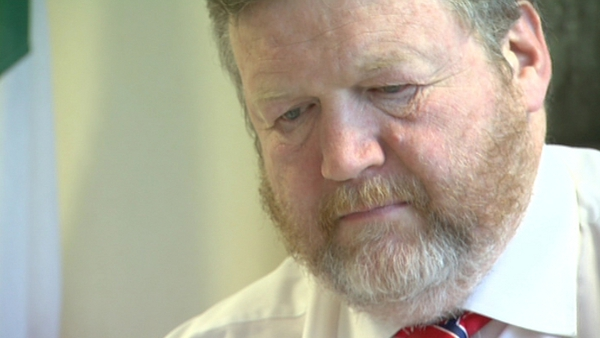 James Reilly said he would do everything possible to diminish the impact of cuts