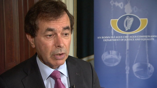Alan Shatter insisted Gay Mitchell is a