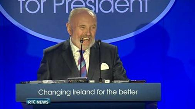 One News: David Norris explains Trinity disability pension