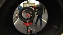The Road Safety Authority has advised drivers to have their car tyres checked once a month at a garage