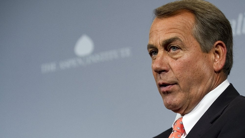 John Boehner has warned against starting a trade war with China
