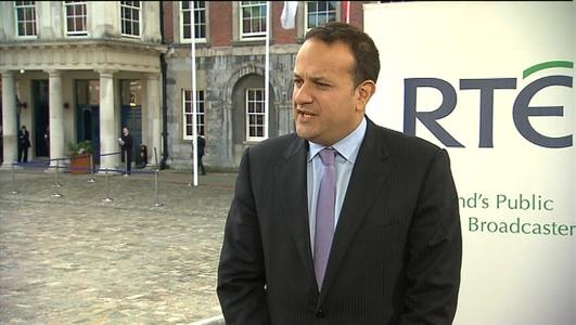 Fine Gael Transport Minister Leo Varadkar