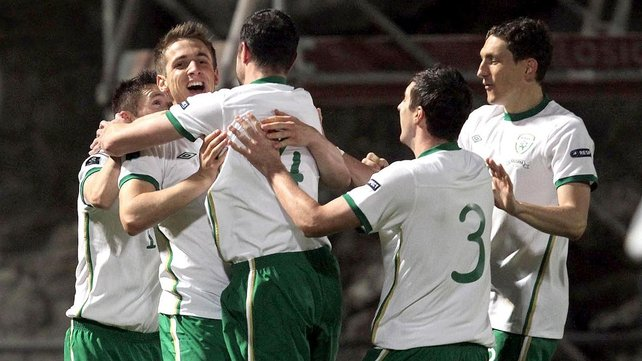Ireland moved onto the final game just needing a draw to secure a play-off