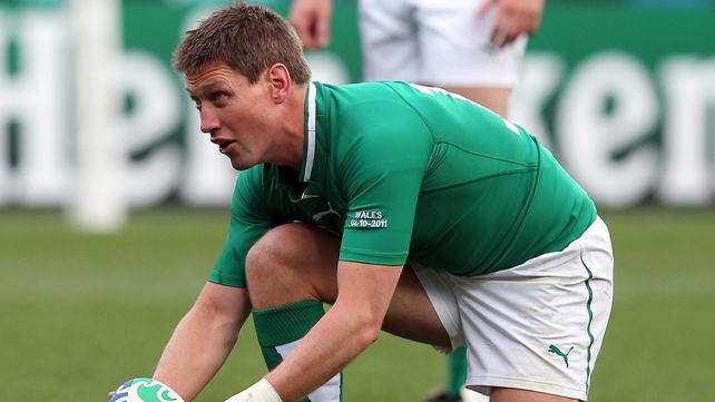 Ronan O'Gara is not in the 32-man squad for next Saturday's game against France