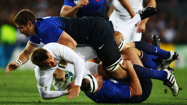 France responded well to surprise defeat to Tonga