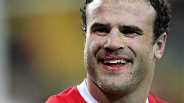 Jamie Roberts is one of three Welsh players who are not certain to be available for Sunday's match