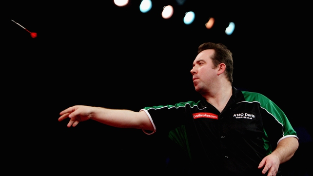 Brendan Dolan - surprise defeat against Kim Huybrechts