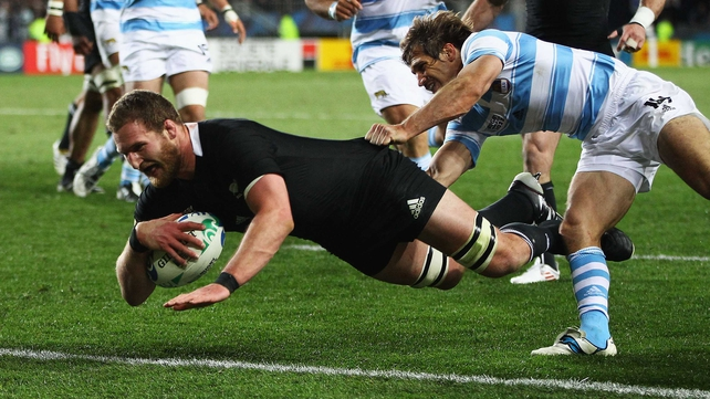 Kieran Read will lead the All Blacks against Italy