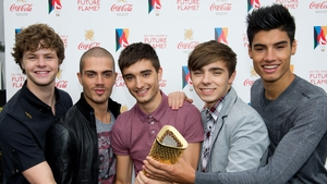 The Wanted: Jay, Max, Tom, Nathan and Siva