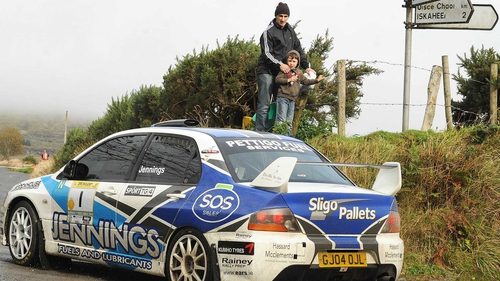 Garry Jennings in action in Donegal