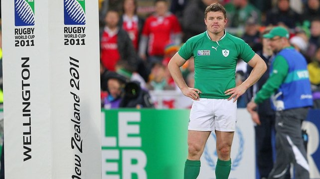 Brian O'Driscoll - Irelanc captain after the quarter-final defeat to Wales