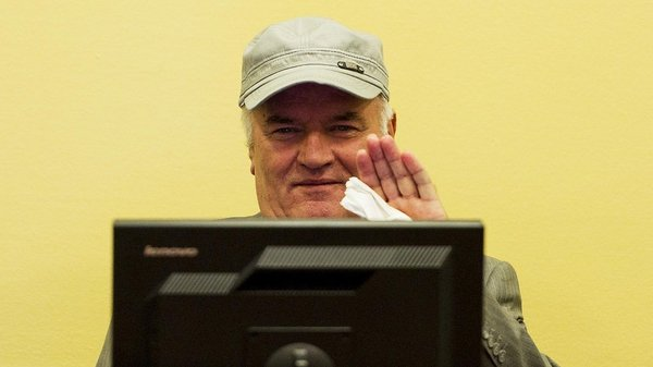 Ratko Mladic has frequently complained of ill health