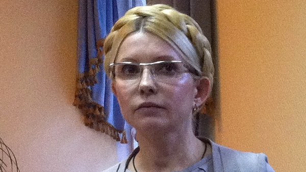 Yulia Tymoshenko is serving a seven-year prison sentence