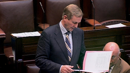 The Taoiseach is open to ideas on how to tackle mortgage crisis