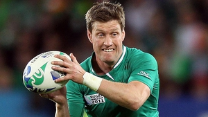 Ronan O'Gara won 128 Ireland caps